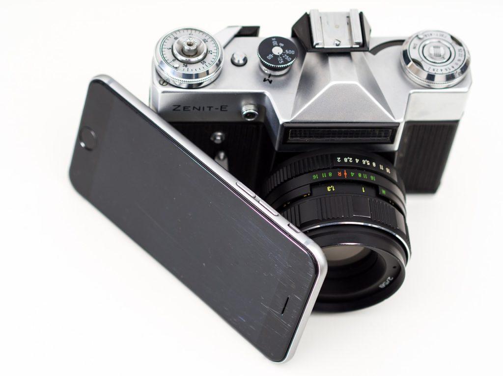 Dermatology camera smartphone
